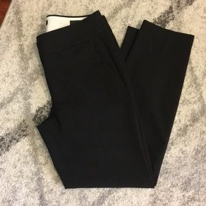 LOFT Marisa Fit Ankle Pants - Black size 2
